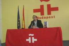 "PRESENTACIÓN DE ""GYENES""  EN BUDAPEST 2012"
