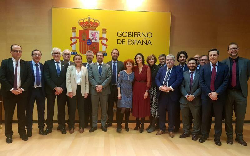 EQUIPO DEL MINISTERIO DE INDUSTRIA, COMERCIO Y TURISMO