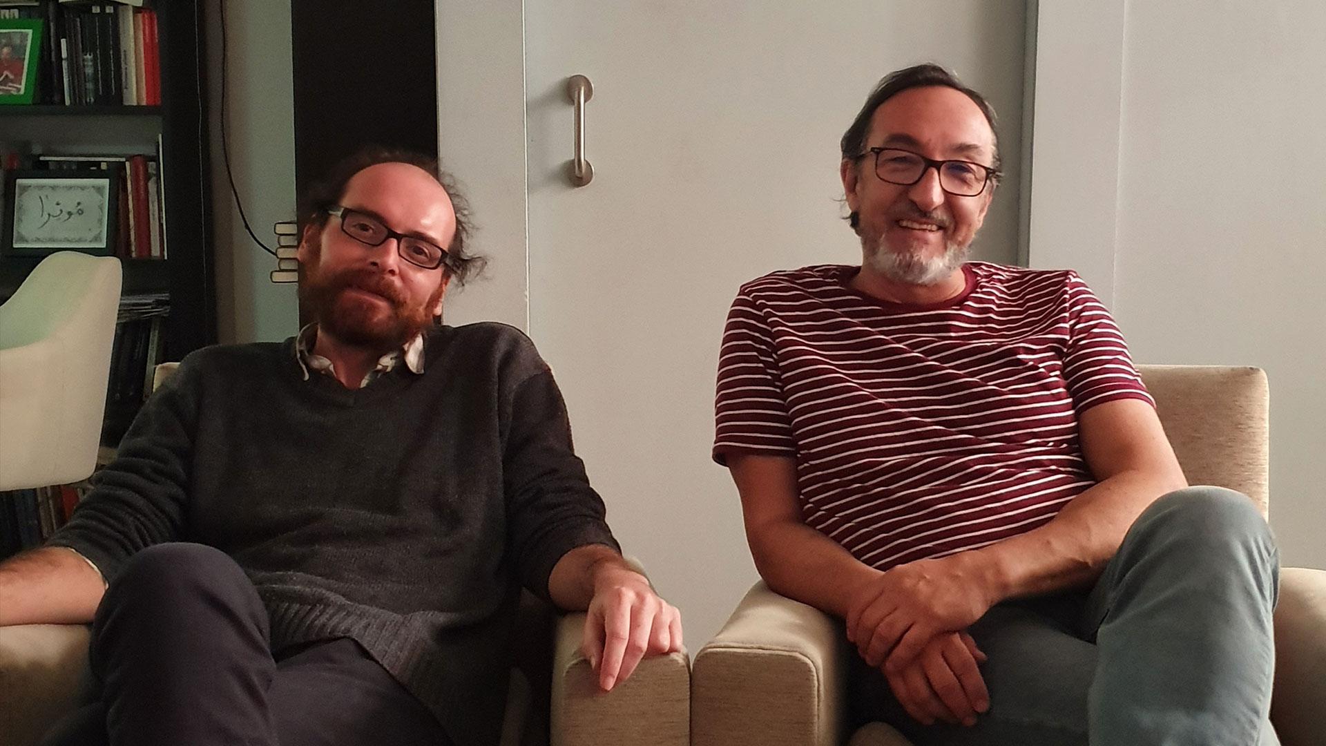 Borja Costa y Fernando Olmeda